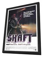 Shaft - 11 x 17 Movie Poster - Style A - in Deluxe Wood Frame