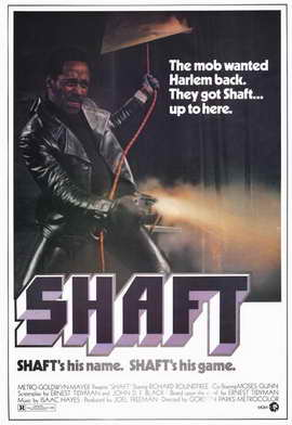 Shaft - 11 x 17 Movie Poster - Style A