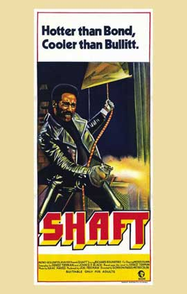 Shaft - 11 x 17 Movie Poster - Australian Style A