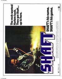 Shaft - 22 x 28 Movie Poster - Half Sheet Style A