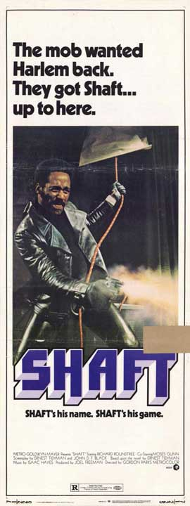 Shaft - 14 x 36 Movie Poster - Insert Style A