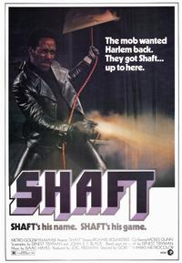 Shaft - 43 x 62 Movie Poster - Bus Shelter Style A