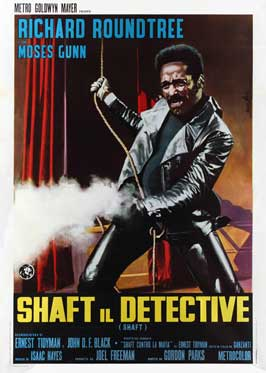 Shaft - 11 x 17 Movie Poster - Italian Style A