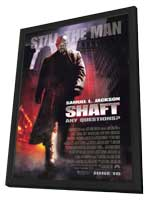 Shaft - 27 x 40 Movie Poster - Style A - in Deluxe Wood Frame