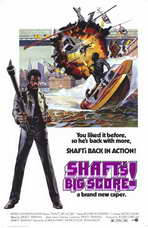 Shaft's Big Score - 27 x 40 Movie Poster - Style A