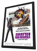 Shaft's Big Score - 11 x 17 Movie Poster - Style A - in Deluxe Wood Frame