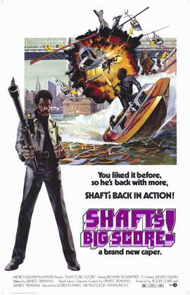 Shaft's Big Score - 11 x 17 Movie Poster - Style A