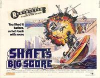 Shaft's Big Score - 11 x 14 Movie Poster - Style A