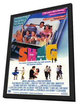 Shag: The Movie - 27 x 40 Movie Poster - Style A - in Deluxe Wood Frame