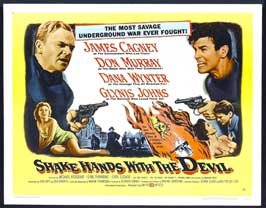 Shake Hands with the Devil - 22 x 28 Movie Poster - Half Sheet Style A