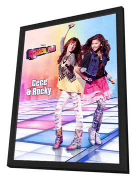 Shake It Up! (TV) - 11 x 17 TV Poster - Hungarian Style A - in Deluxe Wood Frame