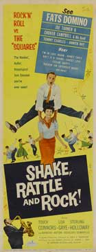 Shake, Rattle and Rock! - 14 x 36 Movie Poster - Insert Style A