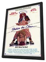 Shakes The Clown - 11 x 17 Movie Poster - Style A - in Deluxe Wood Frame