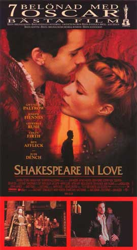 Shakespeare in Love - 11 x 17 Poster - Foreign - Style A
