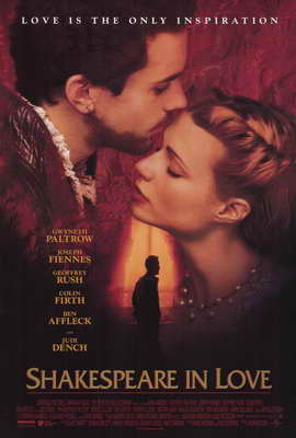 Shakespeare in Love - 27 x 40 Movie Poster - Style A