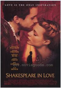 Shakespeare in Love - 43 x 62 Movie Poster - Bus Shelter Style A
