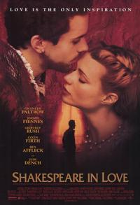 Shakespeare in Love - 11 x 17 Movie Poster - Style A - Museum Wrapped Canvas