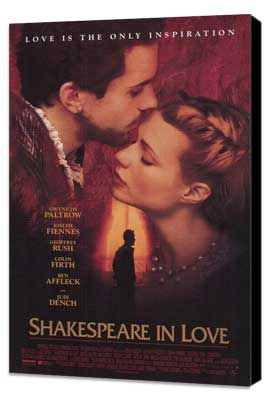 Shakespeare in Love - 27 x 40 Movie Poster - Style A - Museum Wrapped Canvas