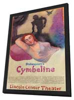 Shakespeares Cymbeline (Broadway) - 11 x 17 Poster - Style A - in Deluxe Wood Frame