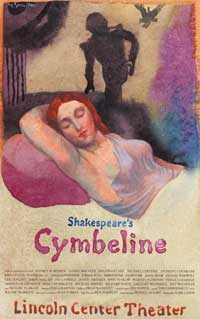 Shakespeares Cymbeline (Broadway) - 27 x 40 Poster - Style A