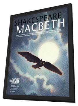 Shakespeares Macbeth (Broadway) - 11 x 17 Poster - Style A - in Deluxe Wood Frame