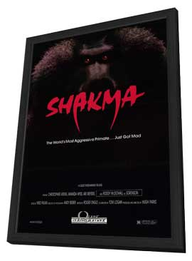 Shakma - 11 x 17 Movie Poster - Style A - in Deluxe Wood Frame