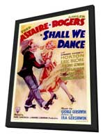 Shall We Dance - 11 x 17 Movie Poster - Style A - in Deluxe Wood Frame