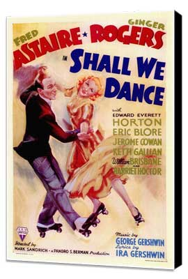Shall We Dance - 11 x 17 Movie Poster - Style A - Museum Wrapped Canvas