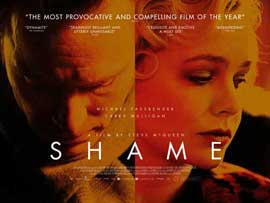 Shame - 11 x 17 Movie Poster - UK Style A
