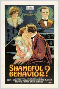 Shameful Behavior? - 27 x 40 Movie Poster - Style A