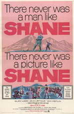 Shane - 11 x 17 Movie Poster - Style E