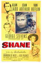Shane - 27 x 40 Movie Poster - Style E