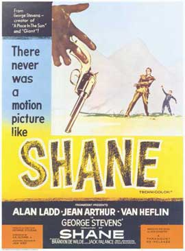 Shane - 11 x 17 Movie Poster - Style D
