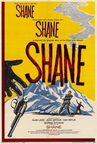 Shane - 11 x 17 Movie Poster - Style C - Museum Wrapped Canvas