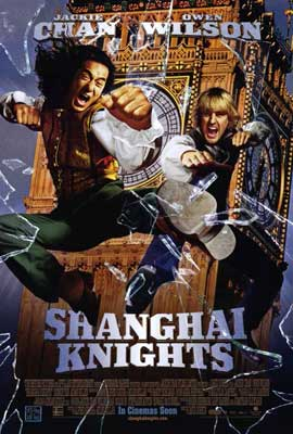Shanghai Knights - 11 x 17 Movie Poster - Style B