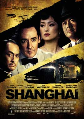 Shanghai - 11 x 17 Movie Poster - German Style A