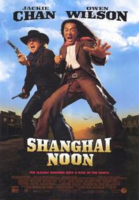 Shanghai Noon - 43 x 62 Movie Poster - Bus Shelter Style A