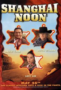 Shanghai Noon - 11 x 17 Movie Poster - Style D