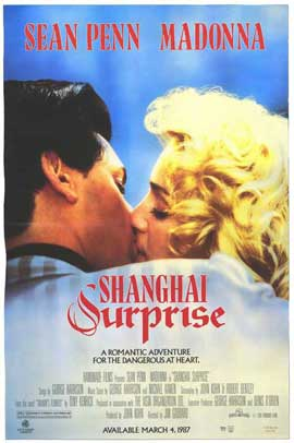 Shanghai Surprise - 27 x 40 Movie Poster - Style B
