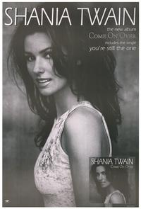 Shania Twain - Music Poster - 24 x 36 - Style G