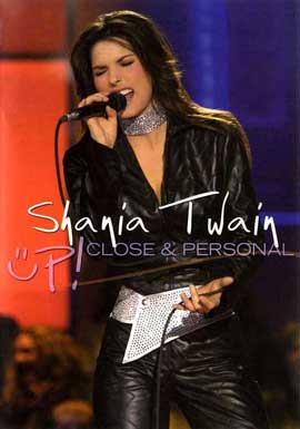 Shania Up! Live in Chicago - 11 x 17 Movie Poster - Style A