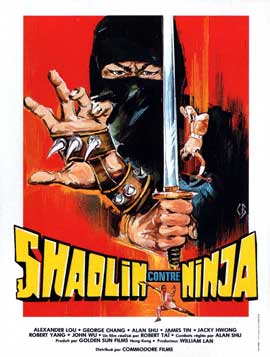 Shaolin vs. Ninja - 11 x 17 Movie Poster - French Style A