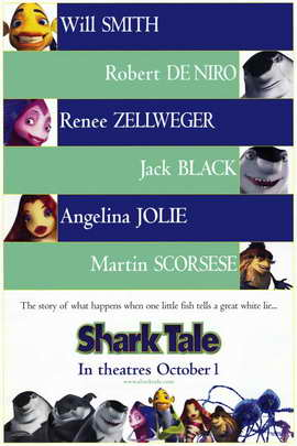Shark Tale - 11 x 17 Movie Poster - Style A
