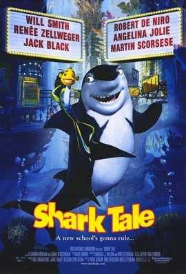 Shark Tale - 11 x 17 Movie Poster - Style C