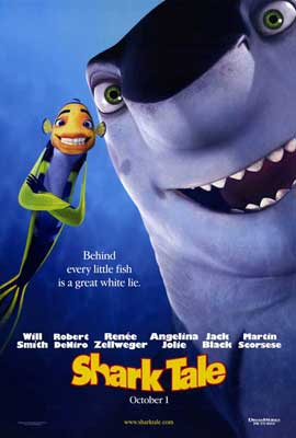 Shark Tale - 27 x 40 Movie Poster - Style B