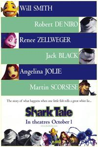 Shark Tale - 43 x 62 Movie Poster - Bus Shelter Style A