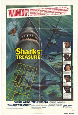 Sharks' Treasure - 11 x 17 Movie Poster - Style A