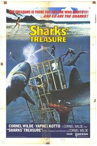 Sharks' Treasure - 11 x 17 Movie Poster - Style C