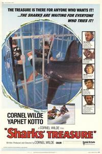 Sharks' Treasure - 27 x 40 Movie Poster - Style B