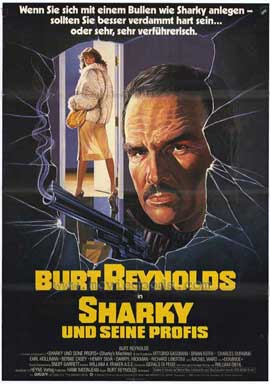 Sharky's Machine - 11 x 17 Movie Poster - German Style A